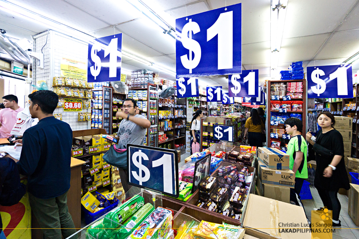 Singapore Layover One Dollar Store