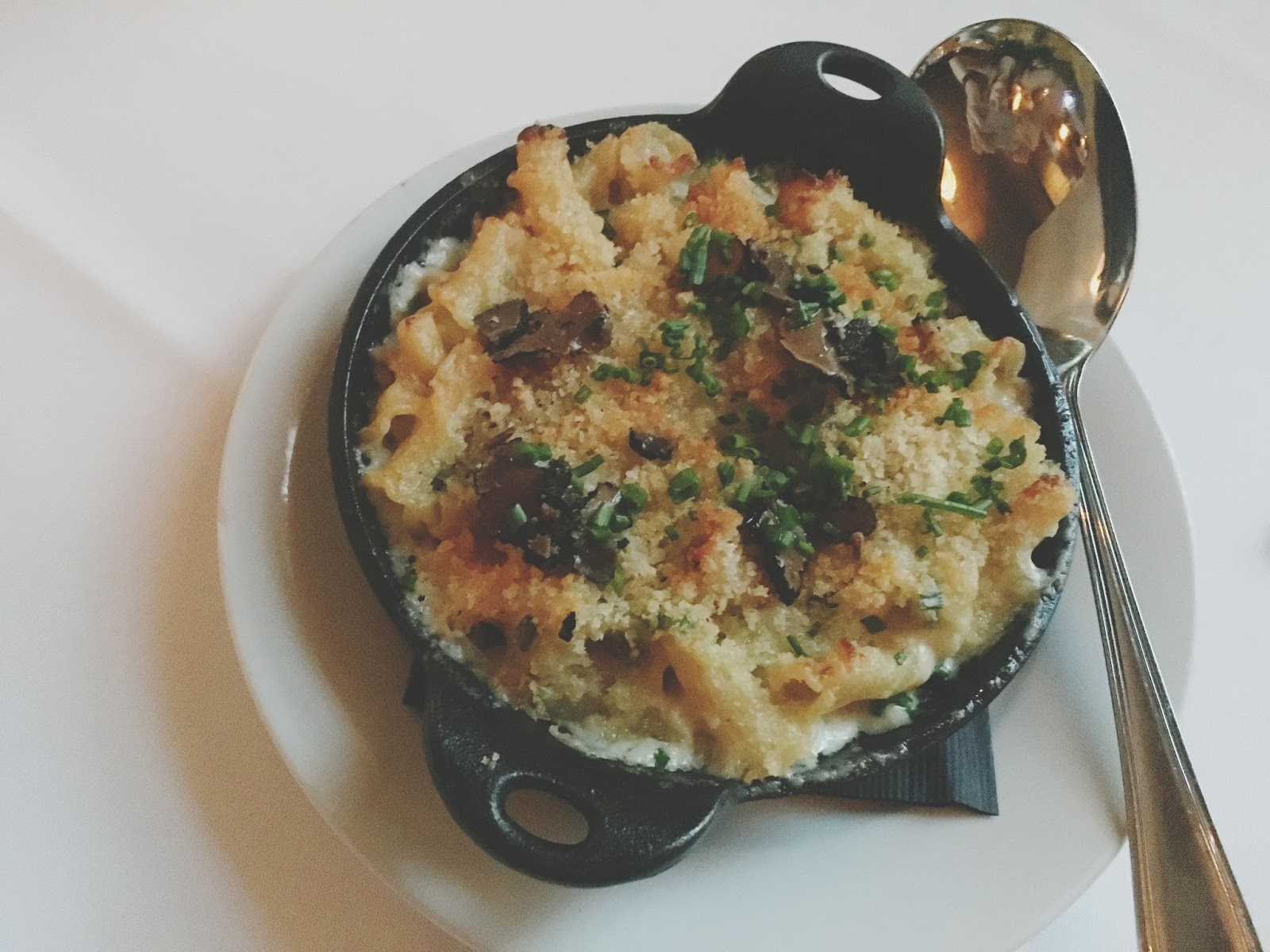 mac and cheese at Eddie V's - A restaurant in Houston, Texas