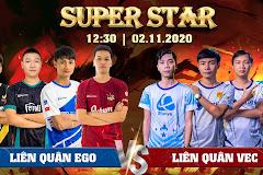 12h30 ngày 2/11, showmatch All-Star: Liên quân VEC được đánh giá cao hơn!
