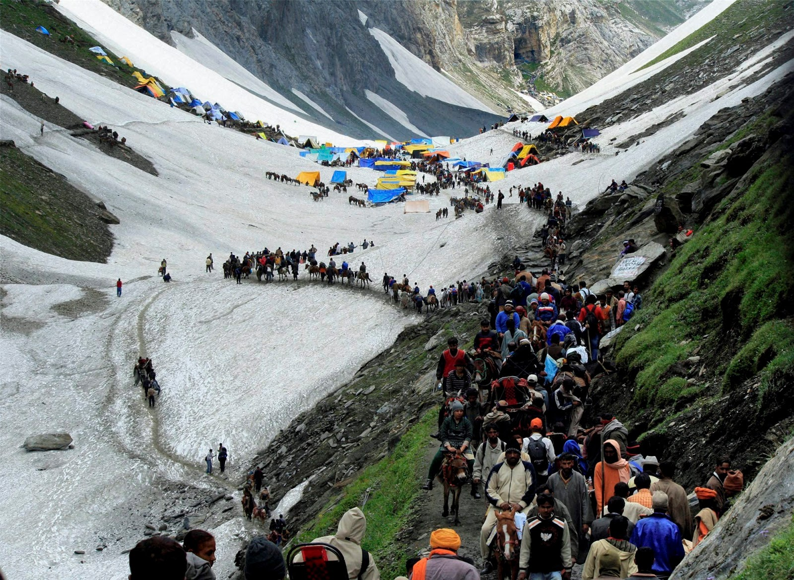 amarnath temple Step-by-step procedure for registration of shri amarnath yatra 2018 through  designated branches of banks the registration and issue of yatra permit (yp)  is.