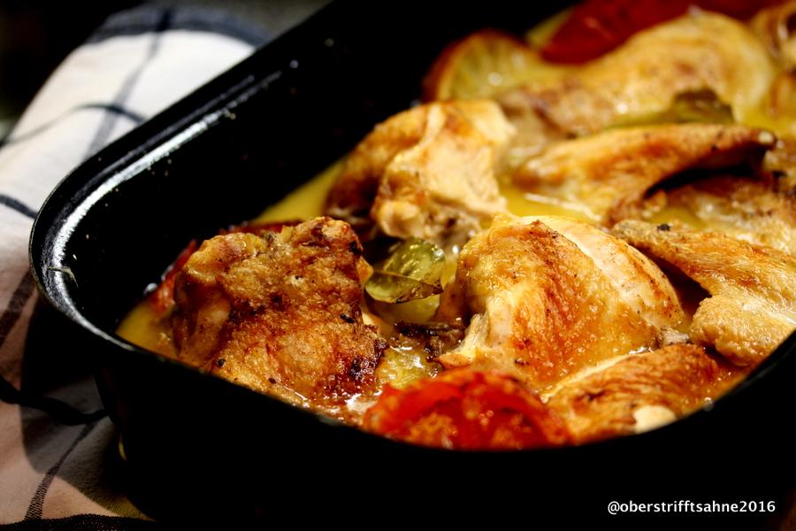 Schnelle Leichte Sommerküche Ofentomaten Mit Hähnchen : Neues rezept für huhn aus dem ofen und eine sammlung von 14 rezepten