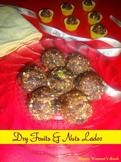 Dry fruits and nuts ladoo