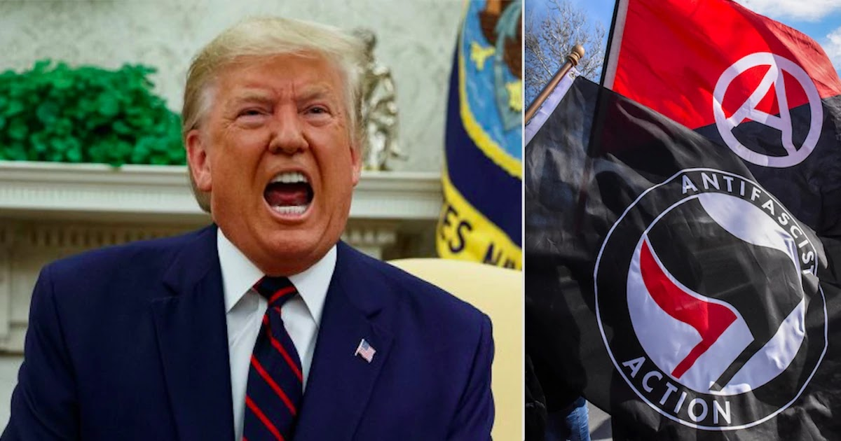 Trump Declares War On Antifascists As He Announces To Designate Them A Terrorist Group