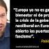 """Pablo Iglesias: """"Europa puede volver a caer en manos del fascismo"""""""