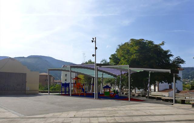 Muskiz tendrá un nuevo baño autolimpiable en el parque de El Crucero