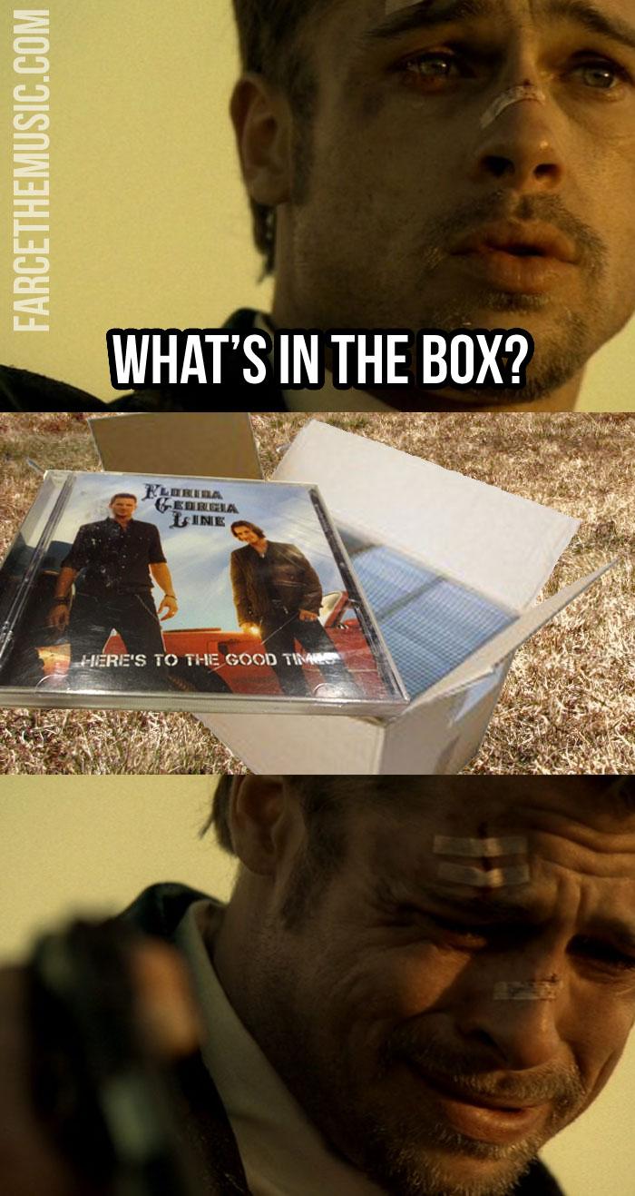 Seven What's In The Box Meme : seven, what's, Farce, Music:, Florida-Georgia, Line/Seven