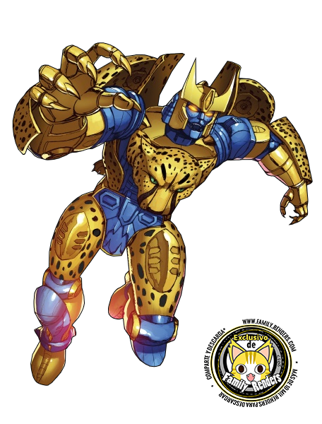 render Cheetor