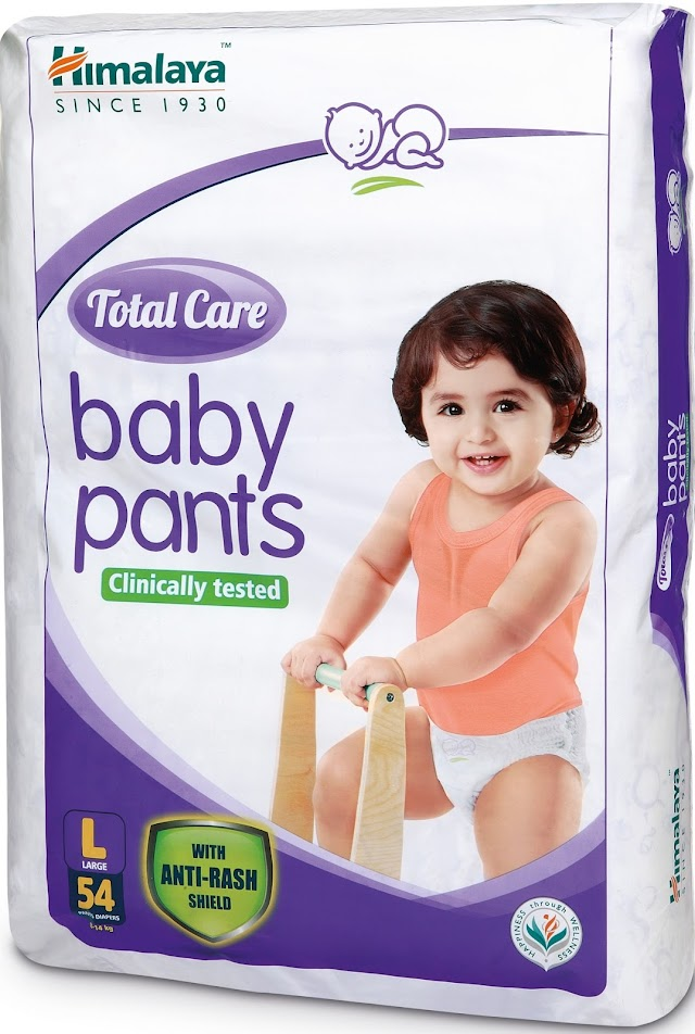 Himalaya BabyCare launches Total Care baby pants