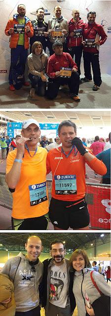 Atletismo Aranjuez en Maratón de Sevilla