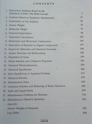 RC Mukherjee Chemical Calculations