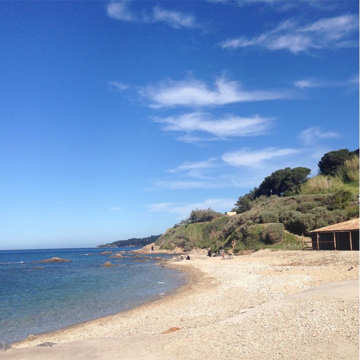La plage St Tropez