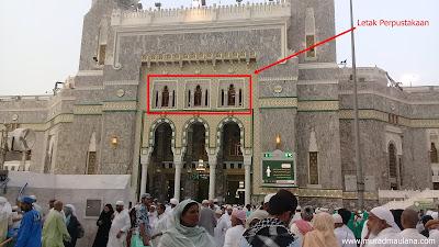 Letak Perpustakaan Masjidil Haram