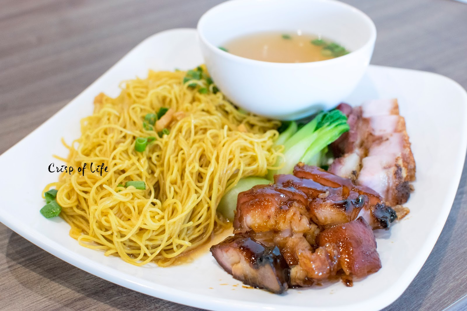 Hong Kong style wantan mee noodle Kum Kei Olive Tree Commercial Lots