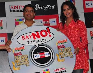 Laxmi Prasanna,Dil Raju at Anti Piracy Song Launch – Gallery