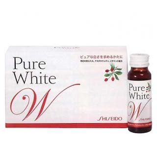 Shisedo pure white - nước uống làm trắng da Nhật Bản