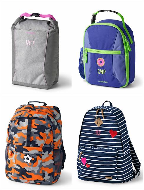 Lands' End: 50% off Backpacks and Lunch Bags + Free Shipping - Prices Start at $2.50!