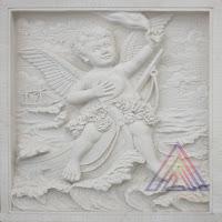 relief angel naik kapal