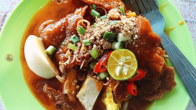 Mee Rebus 3 Rasa Milah Cafe, Penang