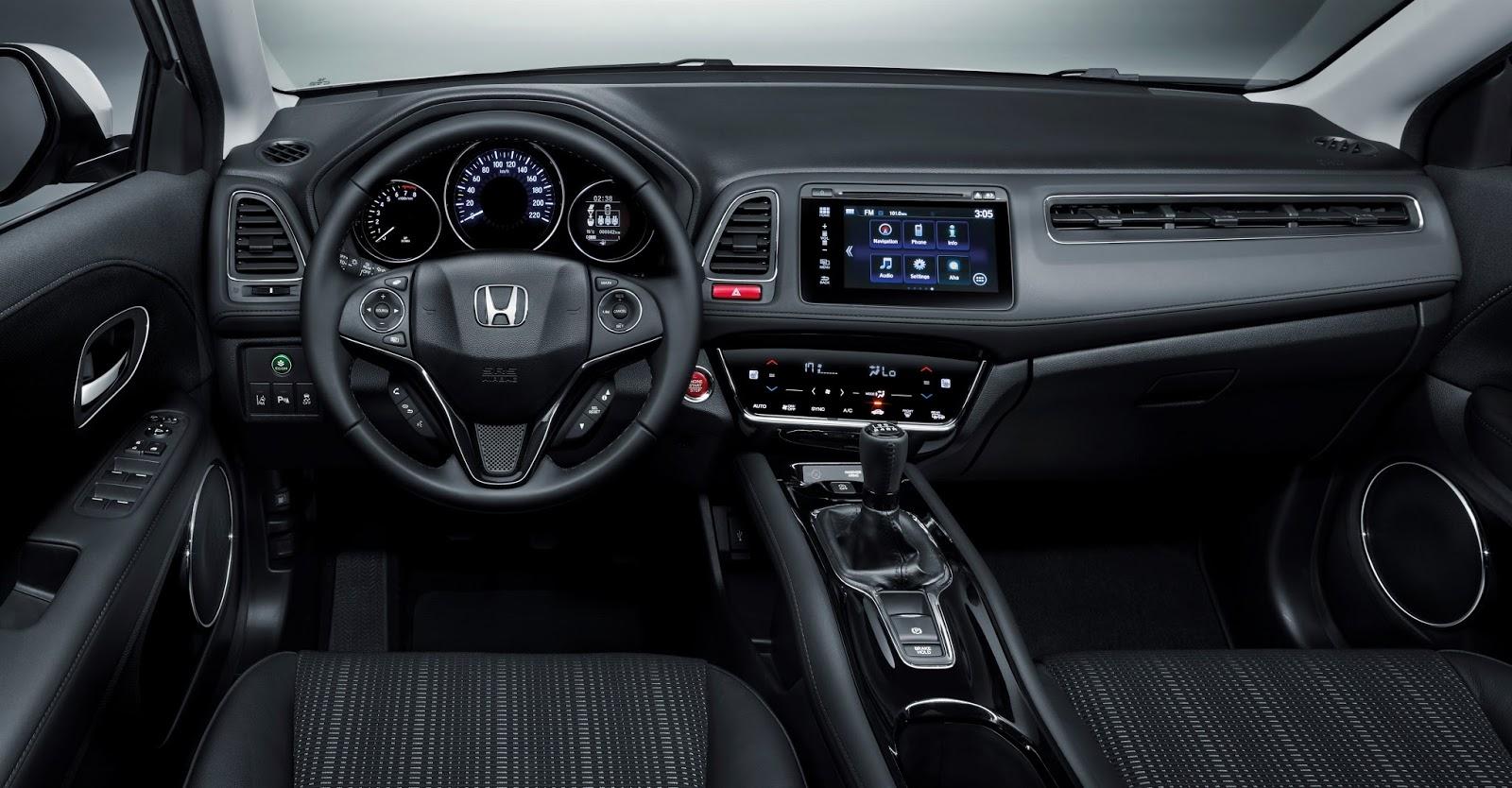 54595 All new HR V Όλες οι λεπτομέρειες για το νέο Honda HR-V Honda, Honda HR-V, HR-V, SUV