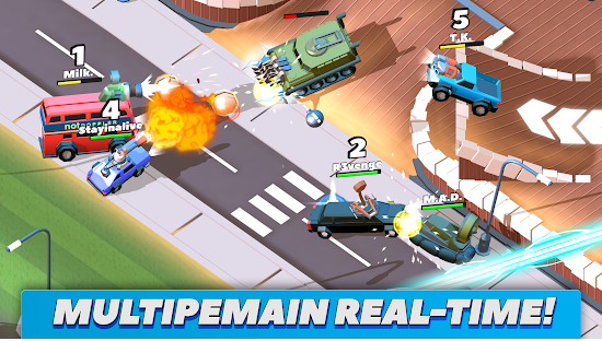 Download Game Android Crash of Cars v1.2.51 Mod Apk