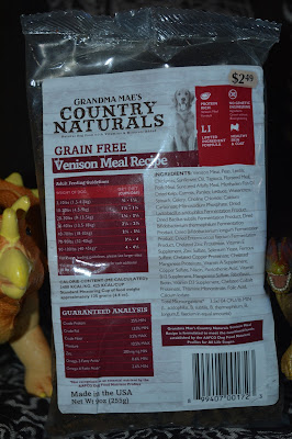 Grain Free Venison Meal Recipe dog food for allergies