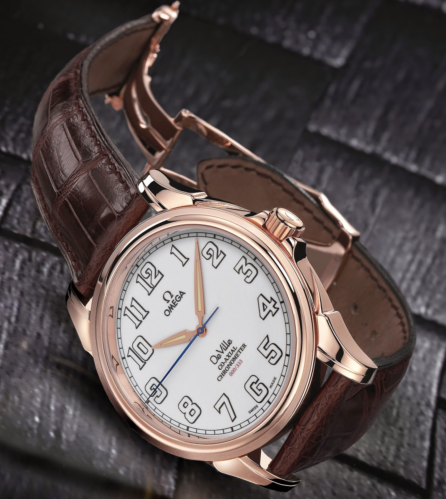 OMEGA De Ville Co-Axial 44mm, Red Gold (Ref. 4658.30.32 & Ref. 4660.20.32)