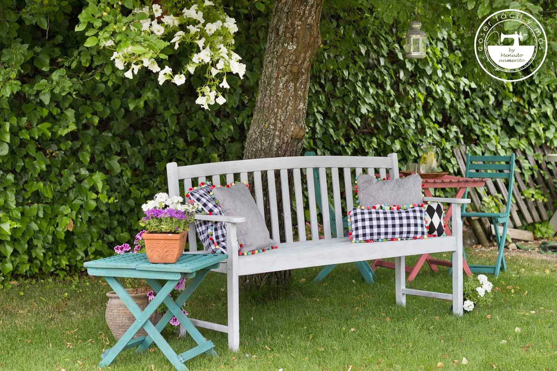 El Blog De Coser F Cil Y M S By Menudo Numerito Costura  # Cojines Muebles Jardin
