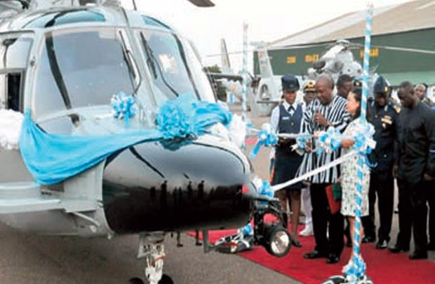 Our helicopters not missing – Ghana Gas