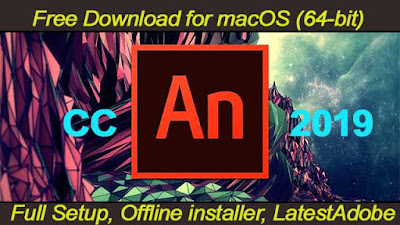 Adobe Animate CC 2019 Free Download for mac
