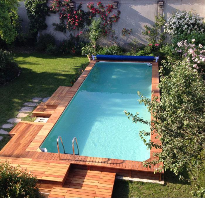 piscine fuori terra rivestite in legno qualit e