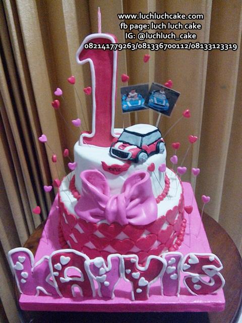 Kue Tart Tingkat Tema Mini Cooper