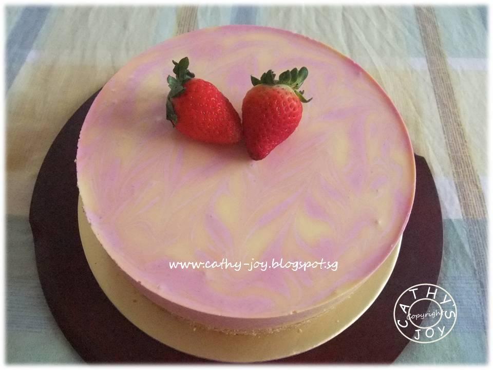 Cathy S Joy Mango Raspberry Cheesecake