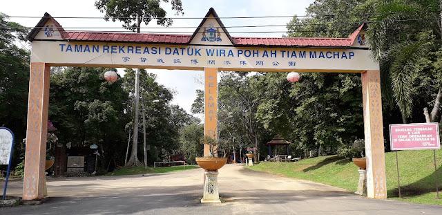 Taman Rekreasi Datuk Wira Poh Ah Tiam Machap