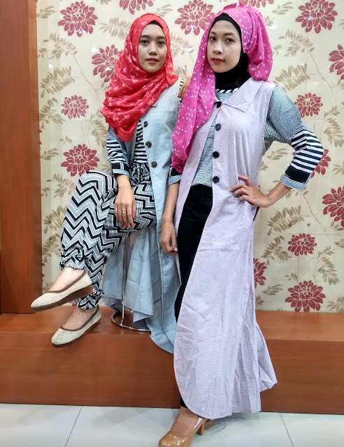 Tips Tampil Cantik Untuk Hijabers Dengan Long Outher