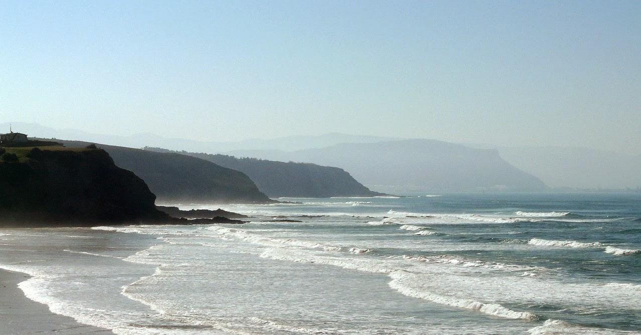 mar ordenado sobre sopelana