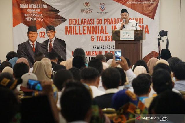 Survei Internal Nyatakan Elektabilitas Prabowo-Sandiaga Di atas 60 Persen