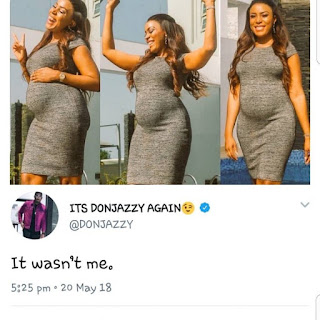 LMAO !! Don Jazzy Reacts To Linda Ikeji's Pregnancy News