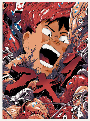 New York Comic Con 2018 Exclusive Akira Art Print by Joshua Budich x Spoke Art