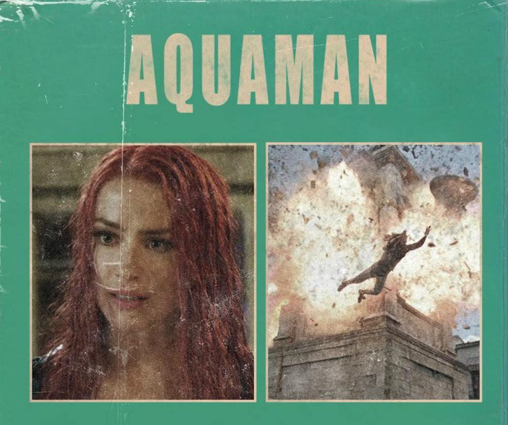 Aquaman VHS Cover Art : 1982年に発売された「アクアマン」のオリジナル映画のVHSカセットを発掘したカバー・アート ! !