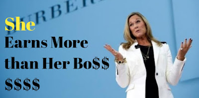 She Earns More than Her Boss