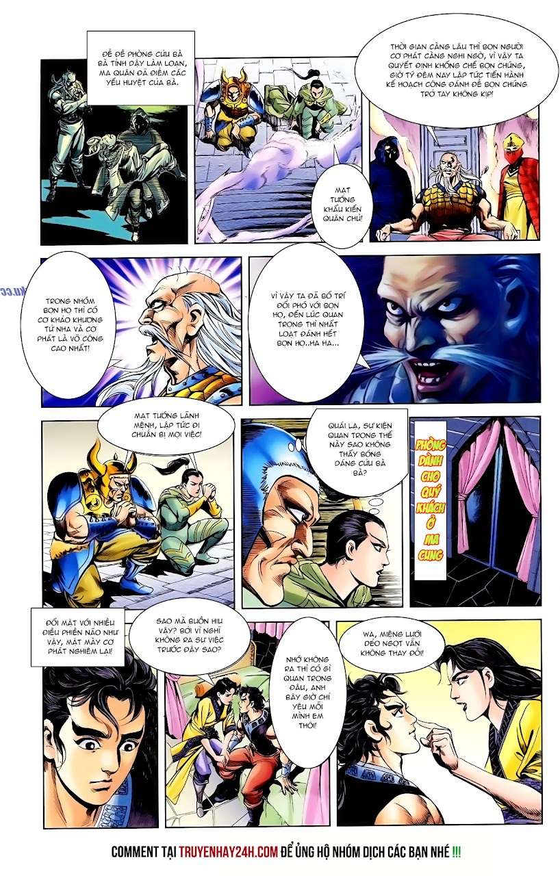 Cơ Phát Khai Chu Bản chapter 112 trang 25