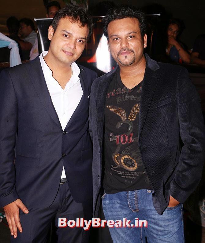 Siddarth and Rahul Kumar Tewary, Indian Tv Serial Mahabharat Heroines and Heroes Pics from Success Party