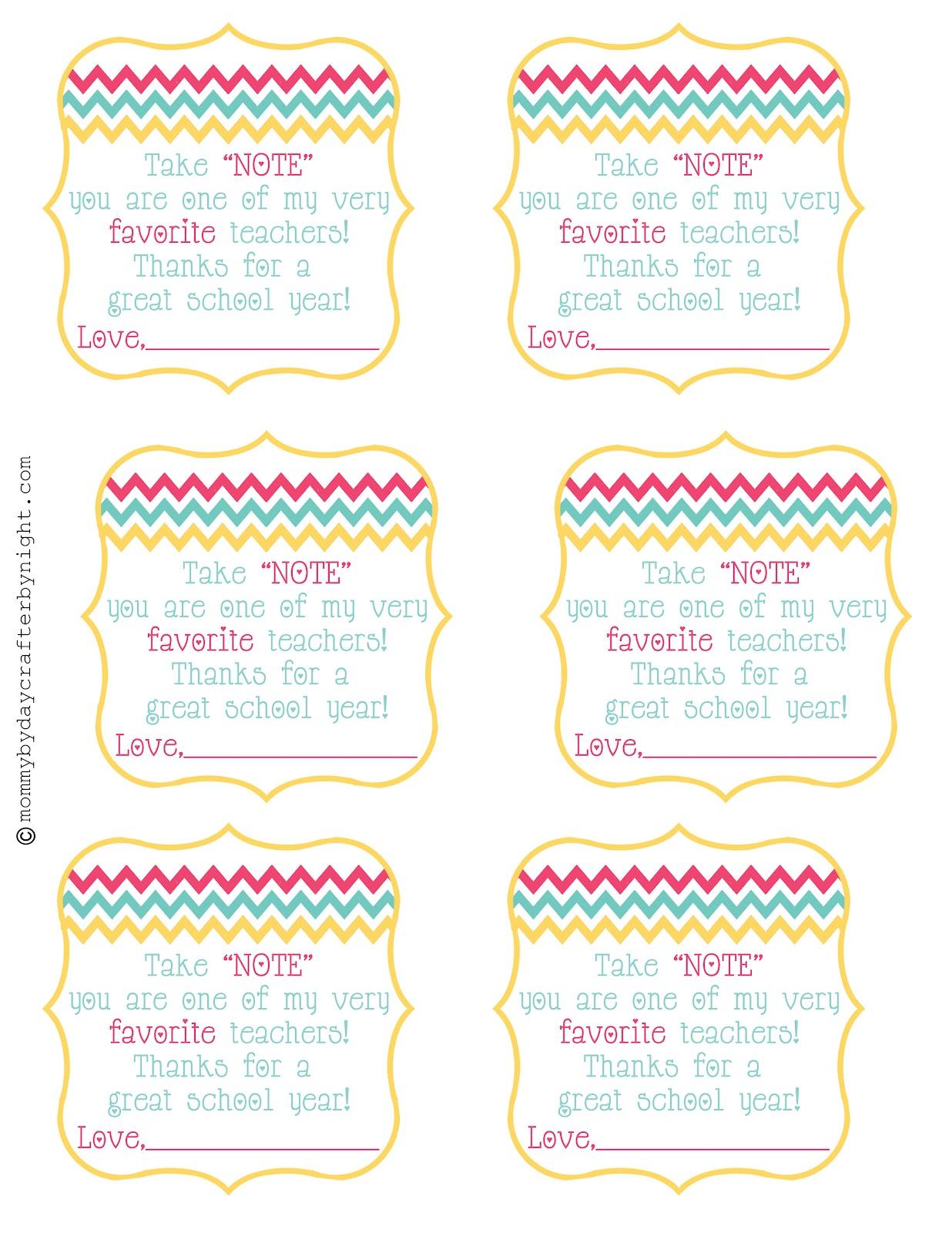 Teacher T Idea Free Printable Teacher Appreciation