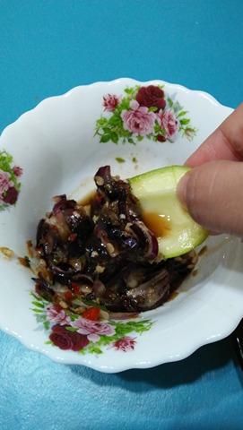 resipi colek buah ala thai, colek buah thai, cara buat colek buah