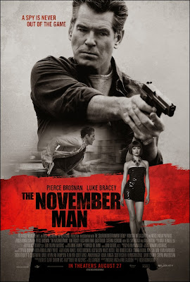 Poster Of The November Man (2014) In Hindi English Dual Audio 700MB 100MB Compressed Small Size Mobile Movie Free Download Only At Movies365.in