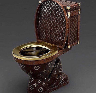 Would You Sell Or Use Your Gucci Toilet?