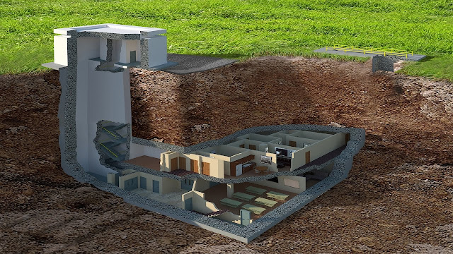 Hardened Structures Underground Bunker