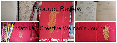 #ProductReview: MatrikaS The Creative Woman's Journal (Feather- To Write) Review