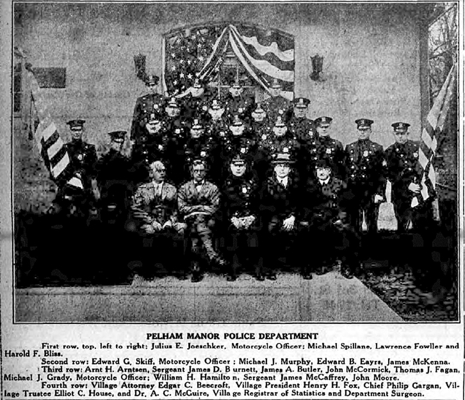 Historic Pelham: Accounts Of Village Police Departments Of