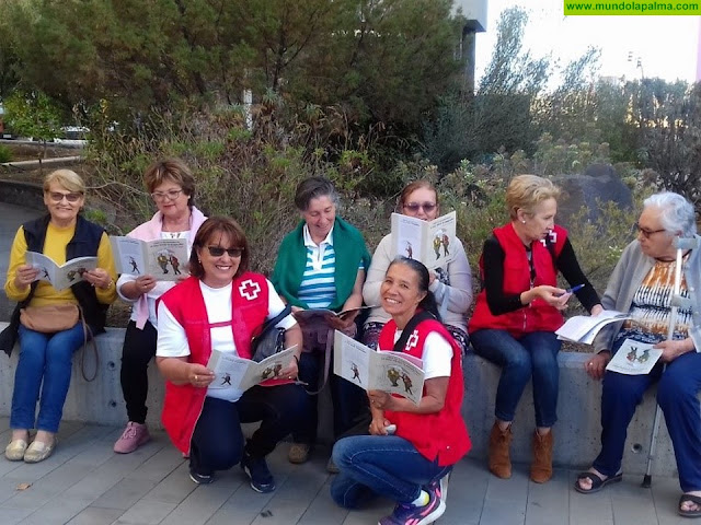 Cruz Roja mantiene Activa la Mente de las personas Mayores en la isla de La Palma